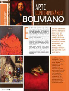 Nota de Prensa sobre mi exposición en el Consulado de Bolivia en Miami, después mis obras fueron expuestas en distintos espacios y galerías. El texto es de Daniela Mérida, mi galerista.