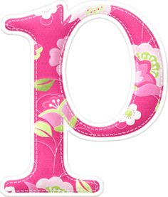 P Good Hare Day (Nitwit Collections) Monogram Alphabet, Alphabet And Numbers, Cardmaking, Clip Art, Symbols, Lettering, Pink, Crafts, Blogging