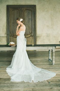 Anna #NOVARESE #ノバレーゼ #weddingdress #lace #brand #CarolinaHerrera #NY