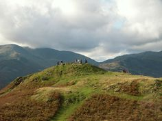 Loughrigg Fell (Lake District). A great place to veer off the bridleway and explore the green paths with amazing views over Lake Windermere, Langdales and Grassmere.