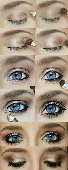 Light Eye Makeup