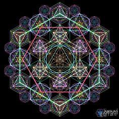 Sacred Geometry ♥ Geometria Hiper por Samuel Ferrand.