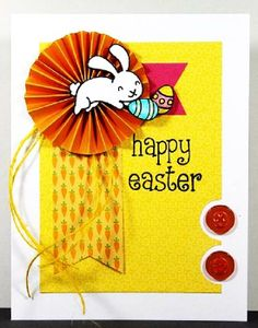 Happy Easter 2014 Greetings Cards for Kids, Children, Toddlers, Preschoolers Easter Crafts For Kids, Easter Ideas, Happy Easter Day, Lawn Fawn Stamps, Tampons, Crafty Craft, Card Tags, Paper Cards, Cool Cards