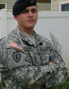 tbrandfas4mj:    This is my son. Army Airborne Ranger Corps. He was a Airborne Medic Specialist First Class. He was an MJ fan. Favorite song Whatever Happens. He was killed August 31 2010. This Photo was taken at Schoffeid Barracks Hawaii. He was on leave so he could marry his highschool SweetheartCassandra. He was redeployed 4days later. He was killed in a trooptransport after a national guard rescue mission for an Artillary brigade in Kuwait. They were on their way to the Dubai Army…
