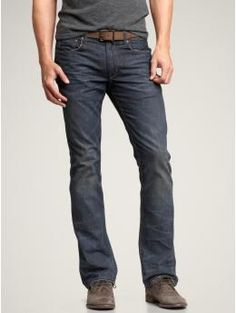 Men's Fashion-I like my men to look like this:)-just some nice jeans and casual shoes or tennies.