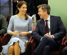 MyRoyals: Danish State Visit to Japan, Day 3, March 28, 2015-Crown Prince Frederik and Crown Princess Mary at a fashion show