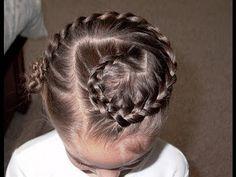 Pretty Hair is Fun – How to do a Swirl Dutch Braid Video Tutorial \ french braid \ hair \ hairstyles \ girl hair \ braid
