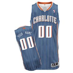 Charlotte Bobcats Your Name Home Custom NBA Jersey in White 356612114
