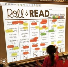 Build fluency with these roll & read fluency sentences! Easy, fun and engaging for your little readers!
