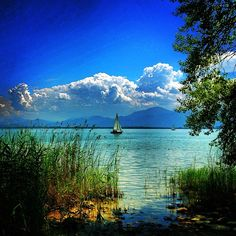 Visited Lake Chiemsee in Bavaria, Germany a couple of times.  If you like sailing and water sports, this is a great destination to visit.  Visit during the summer months!