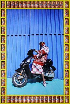 エキゾチックで超クール!イスラム女性のイメージを覆すモロッコのバイカー女子たちの写真集   BUZZAP!(バザップ!)