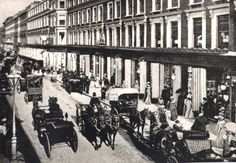 Inch Print - High quality print (other products available) - circa A busy, elegant day in Westbourne Grove, West London. (Photo by Hulton Archive/Getty Images) - Image supplied by Fine Art Storehouse - Photo Print made in the USA Victorian London, Vintage London, Old London, West London, London Pride, Victorian Era, Great Pictures, Old Pictures, Old Photos