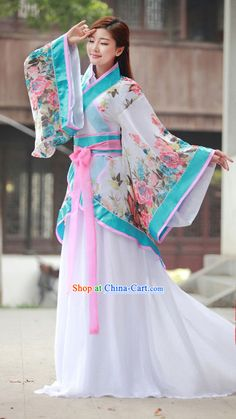 Traditional Han Chinese Clothing rental set traditional buy purchase on sale shop supplies supply sets equipemnt equipments Fashion D, Asian Fashion, Japanese Outfits, Japanese Dresses, Chinese Dresses, Beautiful Outfits, Beautiful Dresses, Mode Kimono, Traditional Dresses