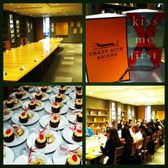 Here's how we like to celebrate the release of two books (Crazy Rich Asians & Kiss Me First) on a Friday!