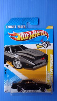 Hot Wheels KITT Knight Industries Two Thousand 2012 New Models #17 Knight Rider