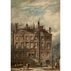 2 Prints Available In Various Designs And Specifications For Your Selection London 1856 Antique Architecture Print- Lodging Houses Vauxhall Row