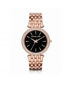 7afdba8cedc0 Michael Kors Darci Pavé Gold-Tone Watch ( 215) ❤ liked on Polyvore featuring
