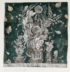 Leonid Stroganov(Russian, b.1979)  Miracle flowers III  2001