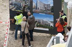 Medewerkers van Weller laten zien wat er waar wordt gebouwd aan de zuidzijde