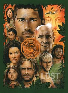 LOST. i got obsessed and watched all the seasons on netflix. ooops.