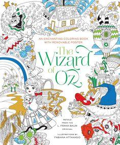 The Wizard of Oz Coloring Book: Fabiana Attanasio: 9781454920939: Amazon.com: Books