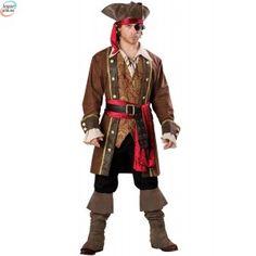 Captain Skullduggery Kostyme