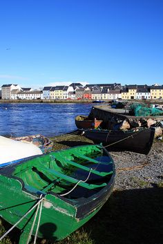 Although I've already been to Ireland, I never got to see Galway. I have to see Galway.