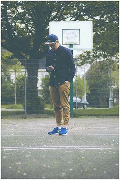Beastin Snapback, Bleu De Paname Shirt, H&M Chino, Nike Air Max Light / Size? Exclusive