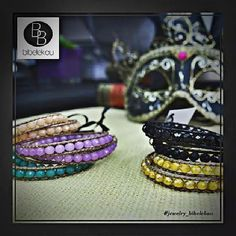 bracelets colors carnival mask venice jewels fashion