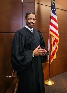 Wake County (NC) Judge Michael Morgan is an alum of North Carolina Central's law school