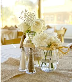 Elegant, simple, and affordable centerpiece