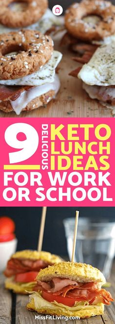 Looking for some great keto lunches to take to work or school? These keto lunches will hit the spot and help keep you in ketosis.