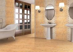 Wholesale Large Beige Matte Bathroom Tiles with Cheap Price from China Tiles Manufacturer -- YHH Ceramic Tile