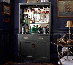 Ken Fulk Mirrored Bar Cabinet | Pottery Barn