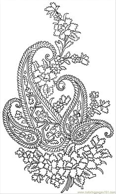 printable coler paterns coloring pages textile pattern 023 other pattern free - Printable Coloring Pages Patterns
