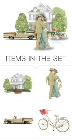 """""""Victorian Love"""" by majezy ❤ liked on Polyvore featuring art and vintage"""