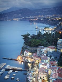 Italy, Amalfi Coast, Sorrento Photographic Print by Michele Falzone at Art.com