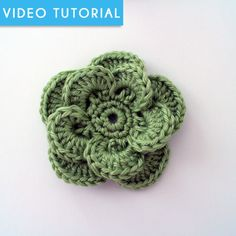 Wagon Wheel Flower & ToNS of other crochet flowers and items