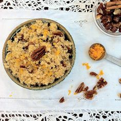 5 easy breakfast bowls that are healthier than cereal (like this Pecan Date Breakfast Couscous). #healthyeating #healthyrecipes #breakfastrecipes #everydayhealth | everydayhealth.com