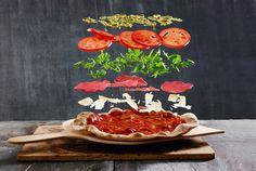 Älskar du pizza? Här får du ett recept på en perfekt pizza som du kan äta HELT utan att få dåligt samvete.
