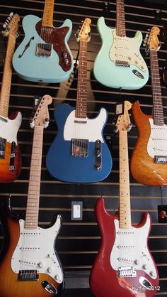At Ludlow Guitars in NYC (Love that place!!)