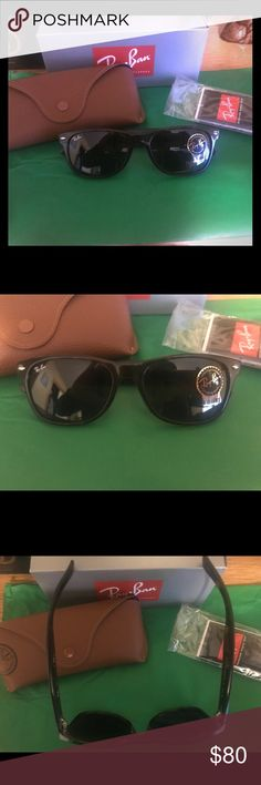 f138fad23bb Rayban New Wayfarer Tortoise Sunglasses PERFECT! RAYBAN New Wayfarer  sunnies practically New I bought these