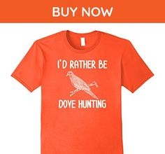 Mens Dove,Bird Hunting T-Shirt 3XL Orange - Animal shirts (*Amazon Partner-Link)