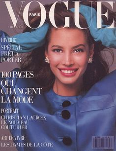 Vogue París del año y mes en que nací <3