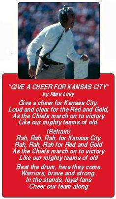Give a cheer for KC. Jana Stillings · Kansas City Chiefs! 7e2ec5ca2354