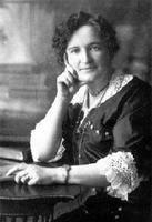 Nellie McClung --Canadian suffragist, reformer, legislator, author (1873 in Chatsworth, ON; died 1951).