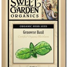 Genovese Basil  from The Scribbled Hollow for $2.89 on Square Market