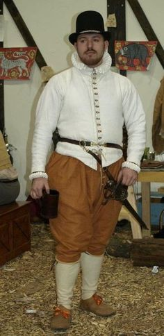 My Garments - 16th and 17th Century Living History