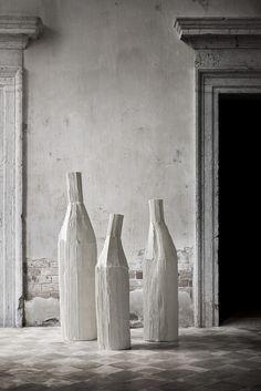 Opere in paper clay di Paola Paronetto - Ceramic design made in Italy home decor