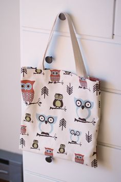 Cute tote bag from one of my favorite bloggers
